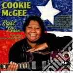 Right place - cd musicale di Cookie Mcgee