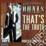 Richard Boals - That's The Truth cd musicale di Boals Richard