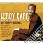When the sun goes down cd musicale di LEROY CARR (4 CD)