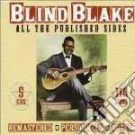 All the published sides cd musicale di Blind blake (5 cd)