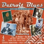 Detroit blues (4 cd) cd musicale di J.l.hooker/b.maceo/e