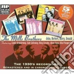 The 1930's recordings - mills brothers cd musicale di The mills brothers (5 cd)