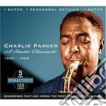 A studio chronicle '40-48 cd musicale di Charlie parker (5 cd