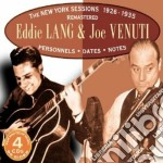 NEW YORK SESSIONS 1926-1935 cd musicale di LANG EDDIE & JOE VENUTI