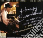 FIRST OF SINGER SONGWRIT.                 cd musicale di CARMICHAEL HOAGY