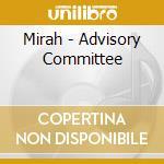 ADVISORY COMMITTEE                        cd musicale di MIRAH