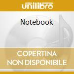 Notebook cd musicale di Ost