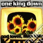 God loves, man kills cd musicale di One king down