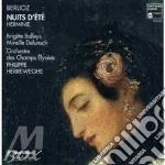 Nuits d'ete' op.7, herminie cd musicale di Hector Berlioz