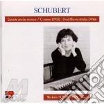 Schubert Franz - Sonata Per Pianoforte D 958, 3 Klavierstucke D 946 cd musicale di Franz Schubert
