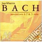 Invenzioni a 2 e a 3 voci cd musicale di Johann Sebastian Bach