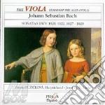 Sonata x vla bwv 1020, 1022, 1027, 1028, cd musicale di Johann Sebastian Bach
