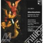 Cantate per l'avvento bwv 36, 61, 62 cd musicale di Johann Sebastian Bach