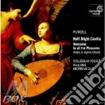 Hail! bright c?cilia, welcome to all the cd musicale di Henry Purcell