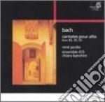 Cantate pour alto cd musicale di Johann Sebastian Bach