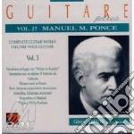 Ponce Manuel Maria - Guitare Plus Vol.27: Variazioni E Fuga Sulla