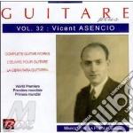 Guitare plus vol.32: suite valenciana, c cd musicale di Vicente Asencio
