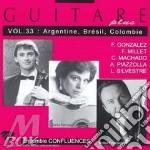 Guitare plus vol.33: argentina - brasile cd musicale