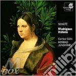 Madrigali italiani swv 1 > 19 cd musicale di Heinrich SchÃœtz