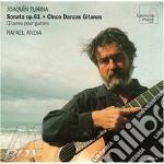 Sonata op.61, sevilliana op.29, fandangu cd musicale di Joaquin Turina