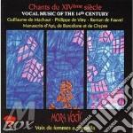 Musica vocale del xiv secolo cd musicale