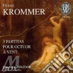 Partita x ottetto di fiati op.57, 77, 79 cd musicale di Franz Krommer