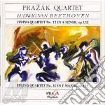 Beethoven Ludwig Van - Quartetto Per Archi N.15 Op.132, N.16 Op.135 cd musicale di BEETHOVEN LUDWIG VAN