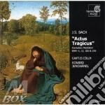 Actus tragicus (cantate bwv 4, 12, 106, cd musicale di Johann Sebastian Bach