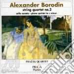 Quartetto x archi n.2, quintetto con pf, cd musicale di Alexander Borodin