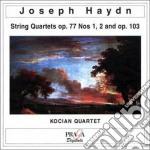 Quartetto per archi n.1 e n.2 op.77, op. cd musicale di HAYDN FRANZ JOSEPH