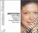 Lettre ???? elise (per elisa) cd musicale di Beethoven ludwig van