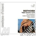 Concerto triplo op.56, trio n.3 op.1 cd musicale di Beethoven ludwig van