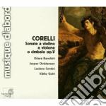 Sonate per violino op.5 cd musicale di Arcangelo Corelli