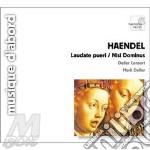 Laudate pueri, nisi dominus, salve regin cd musicale di Handel georg friedri