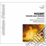 Mozart Wolfgang Amadeus - Concerto Per Clarinetto K 622, Sinfonian. 21 K 134, N.27 K 199 cd musicale di Wolfgang Amadeus Mozart