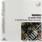 Rameau Jean Philippe - Grands Motets: In Convertendo, Quam Dilecta, Laboravi cd musicale di Rameau jean philippe
