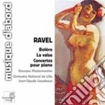 Bolero, concerti per pianoforte, la vals cd musicale di Maurice Ravel