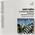 Il carnevale degli animali, quintetto op cd musicale di Camille Saint-saËns