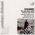 Trio n.1 op.99 d 898, sonata per pianofo cd musicale di Franz Schubert