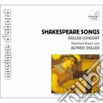 Shakespeare songs cd musicale