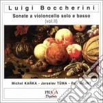 Boccherini Luigi - Sonate Per Violoncello Vol.ii: Sonata G4 , G2b, G5,g13, G15, G18 cd musicale di Luigi Boccherini