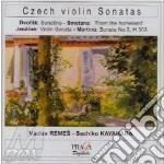 Sonatina x vl e pf op.100 cd musicale di Antonin Dvorak