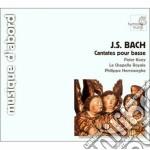 Cantate per basso bwv 82, 56, 158 cd musicale di Johann Sebastian Bach