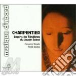 Le????ons de tenebre du jeudi saint cd musicale di Marc-ant Charpentier