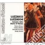 Concerto delle dame di ferrara cd musicale di Luzzaschi