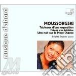 Quadri di un'esposizione, notte sul mont cd musicale di Mussorgsky modest pe