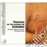 Chansons su poemi di ronsard cd musicale