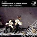 Sonata per vla da gamba bwv 1019, 1027- cd musicale di Johann Sebastian Bach