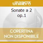 Sonate a 2 op.1 cd musicale di Dietrich Buxtehude
