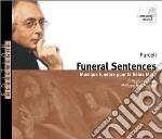 Funeral sentences (musica funebre per la cd musicale di Henry Purcell
